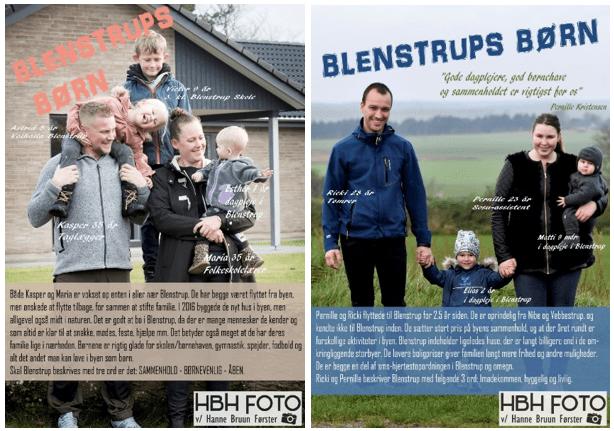 Billeder fra kampagnen Blenstrups børn.