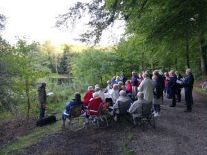 Fællessang i landsbyklyngen Mariager Fjord Vest