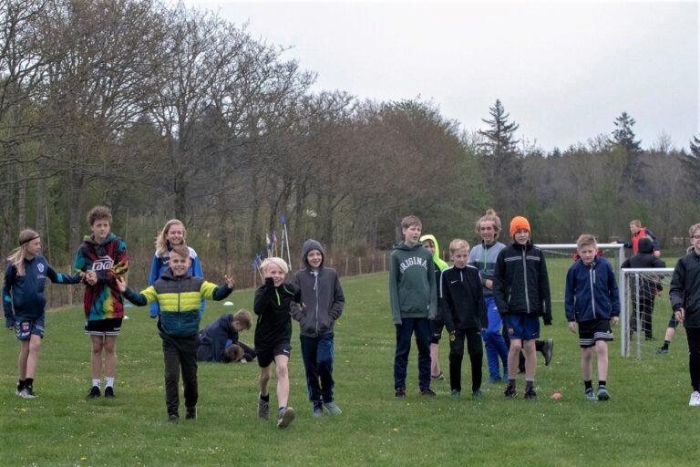 Børn til idrætsdag