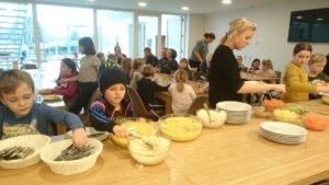 Fællesspisning i Sdr. Bork Forsamlingshus